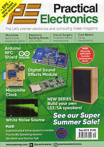 www epemag com PE Practical Electronics hobby constructor magazine